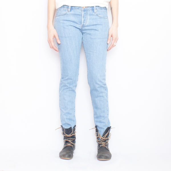 Doublewood Boyfriend - Bleached Jeans & Apparel - Dutil Denim