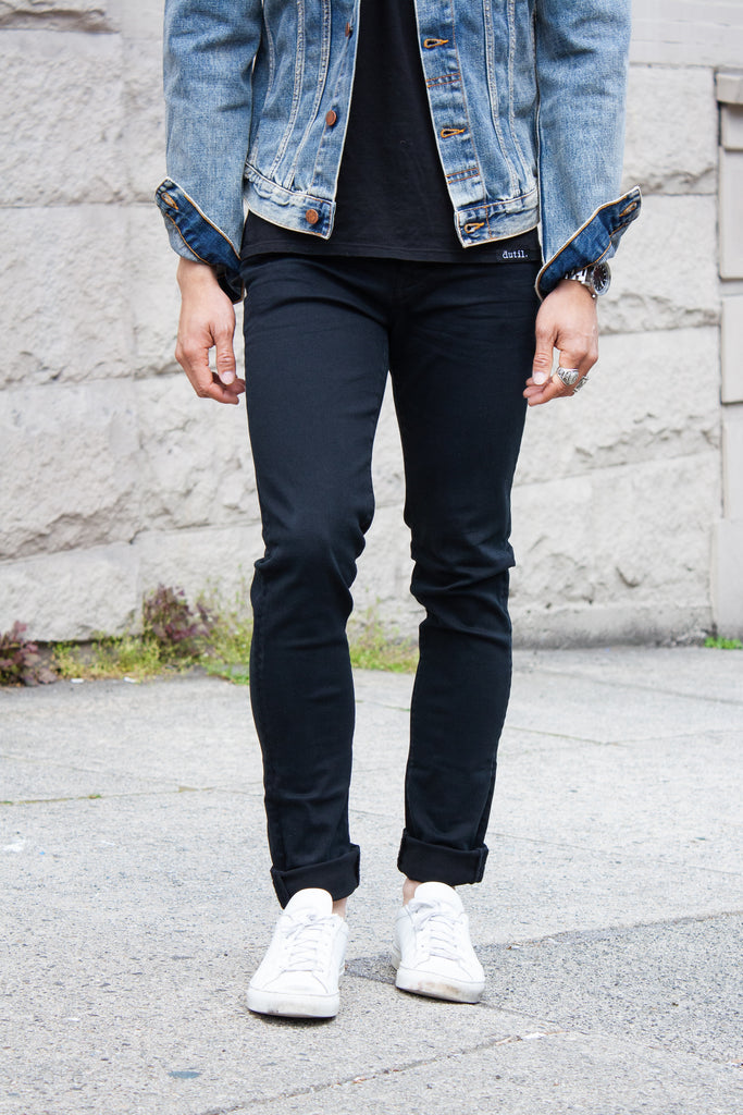 Neuw Ray Tapered - Northern Black Jeans & Apparel - Dutil Denim