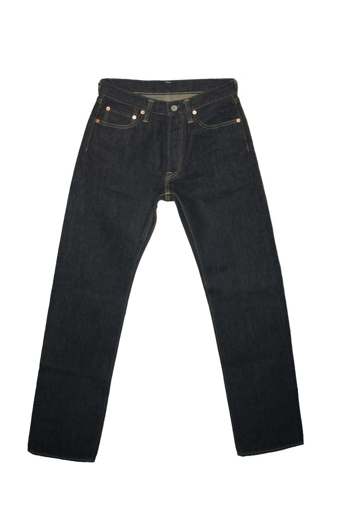 Iron Heart 666S-19L Slim - 19oz Indigo Jeans & Apparel - Dutil Denim