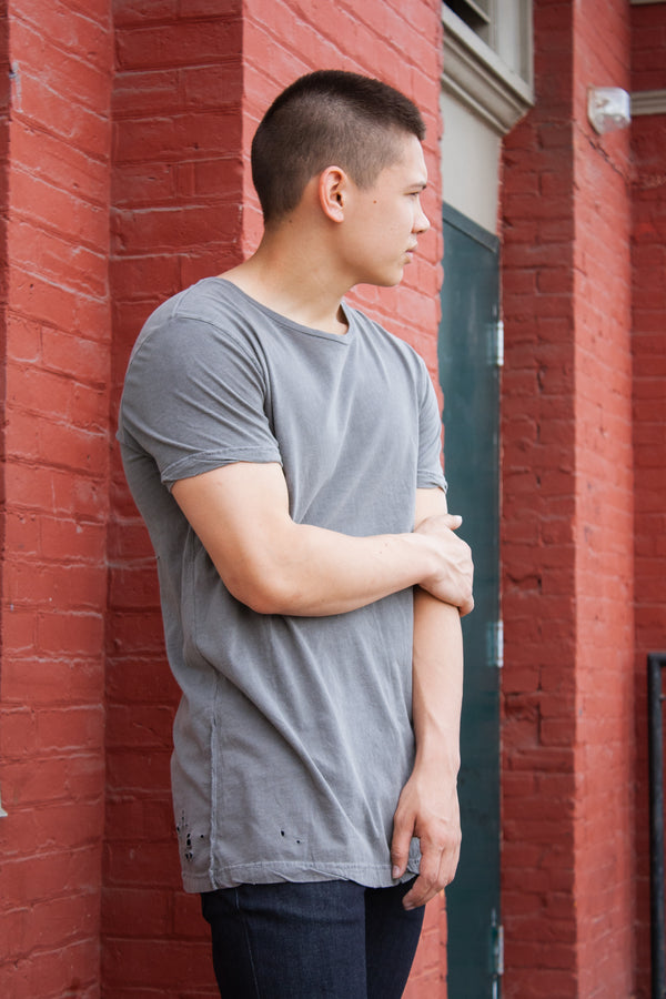 Ksubi Sioux Tee Grey - Dutil Denim