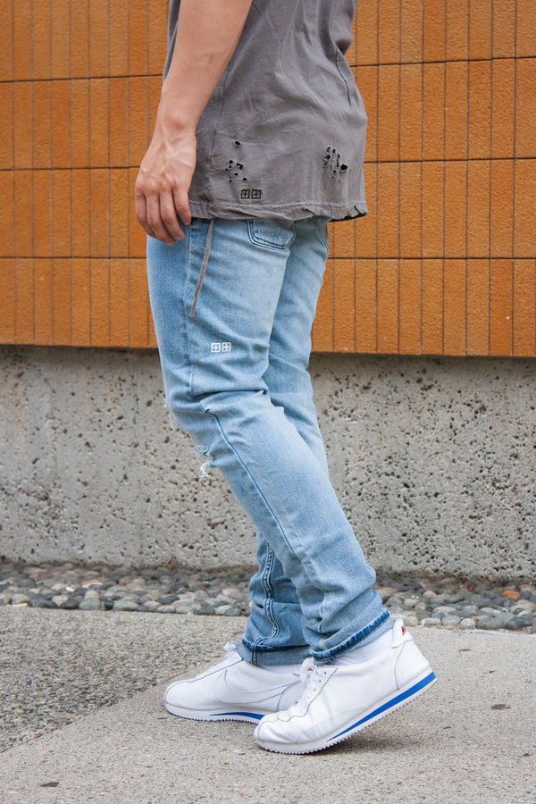 Ksubi Chitch Slim - Philly Blue - Dutil Denim
