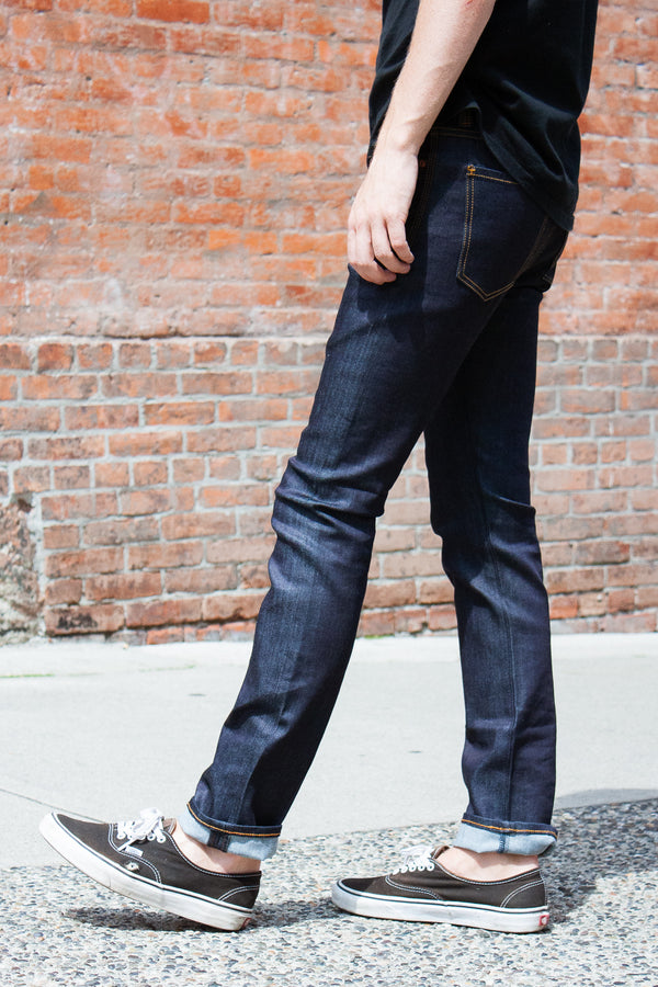 Neuw Iggy Skinny - Raw Indigo Stretch Jeans & Apparel - Dutil Denim