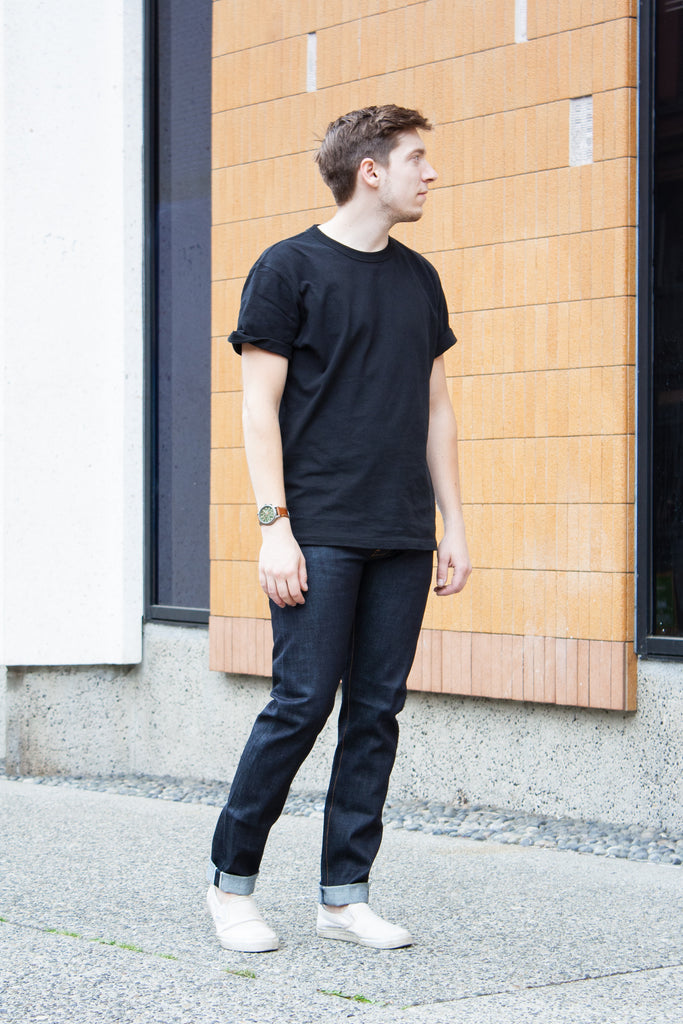 Neuw Lou Slim - Raw Indigo Selvedge Jeans & Apparel - Dutil Denim