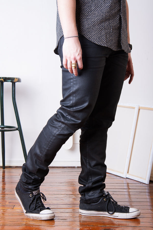 Nudie Lean Dean - Black Minded Jeans & Apparel - Dutil Denim
