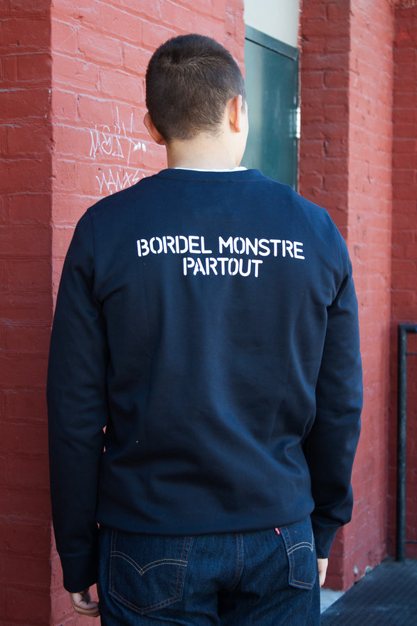 APC Crew Sweatshirt - Bordel Monstre - Dutil Denim