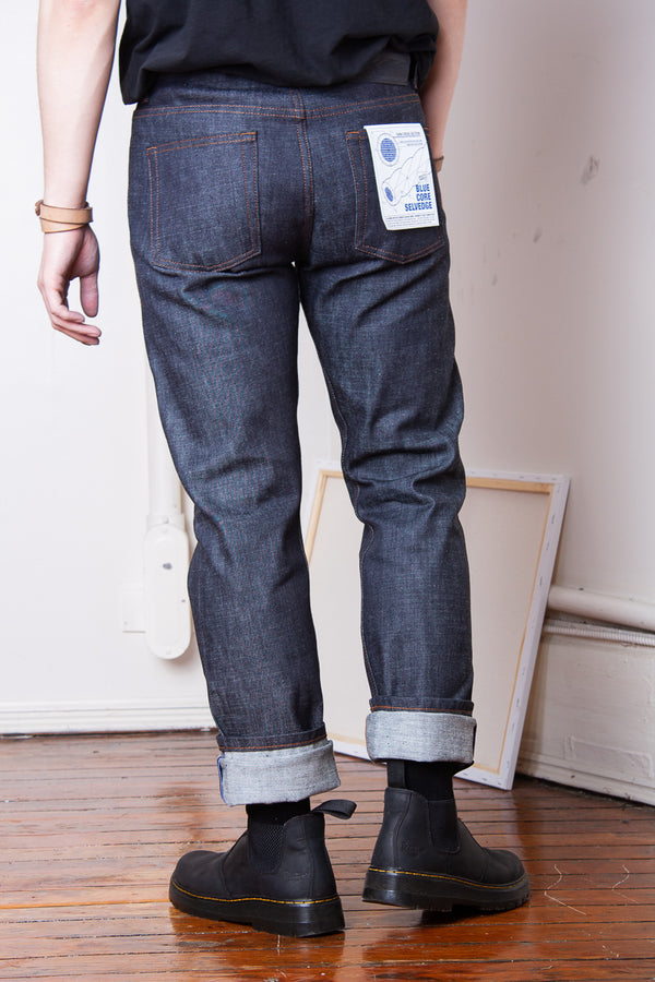 Naked & Famous Weird Guy - Blue Core Selvedge Jeans & Apparel - Dutil Denim