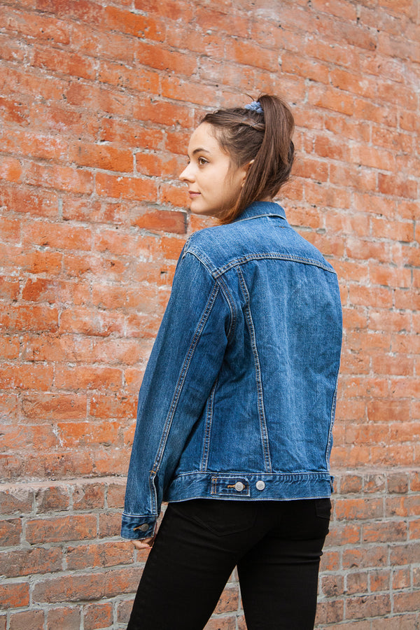Levi's Ex-Boyfriend Trucker Jacket - Groovemarks Jeans & Apparel - Dutil Denim