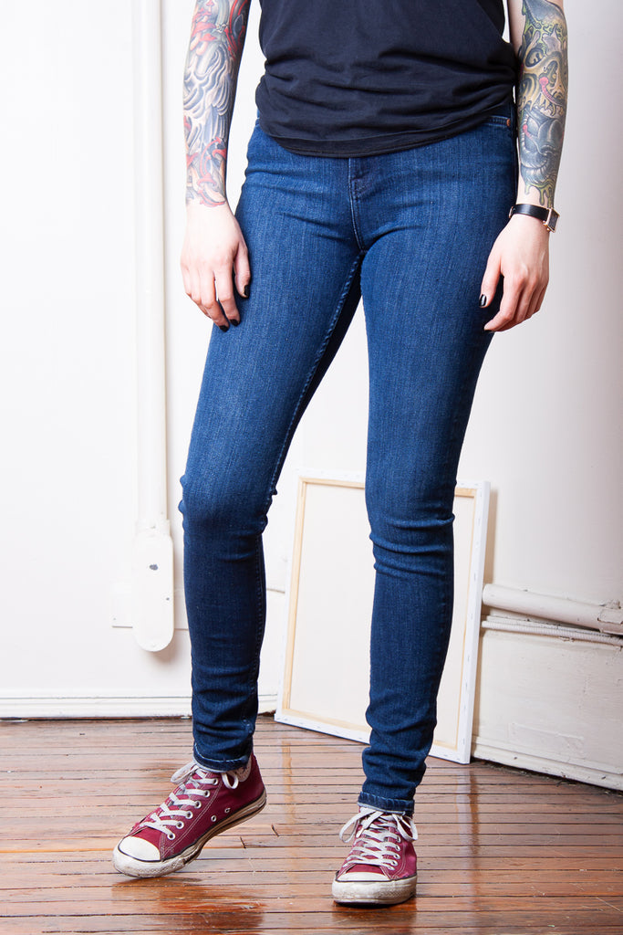 Nudie Hightop Tilde - Blue Tide Jeans & Apparel - Dutil Denim