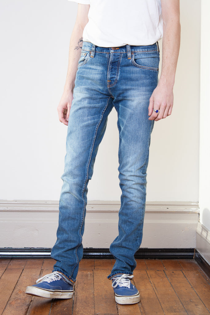 Nudie Grim Tim - Pale Shelter Jeans & Apparel - Dutil Denim