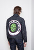 Naked & Famous Club Jacket - Toxic Avenger Deformed Denim Jeans & Apparel - Dutil Denim