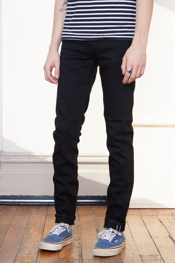 Neuw Iggy Skinny - Black Selvedge Jeans & Apparel - Dutil Denim
