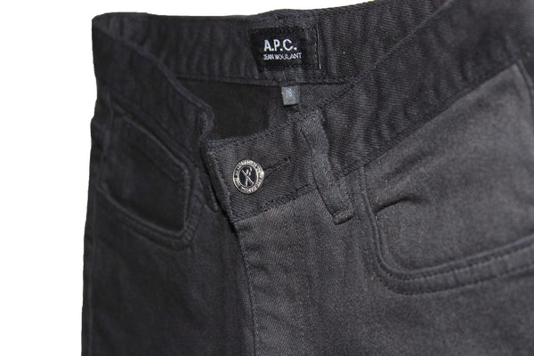 APC Jean Moulant Skinny - Black Jeans & Apparel - Dutil Denim