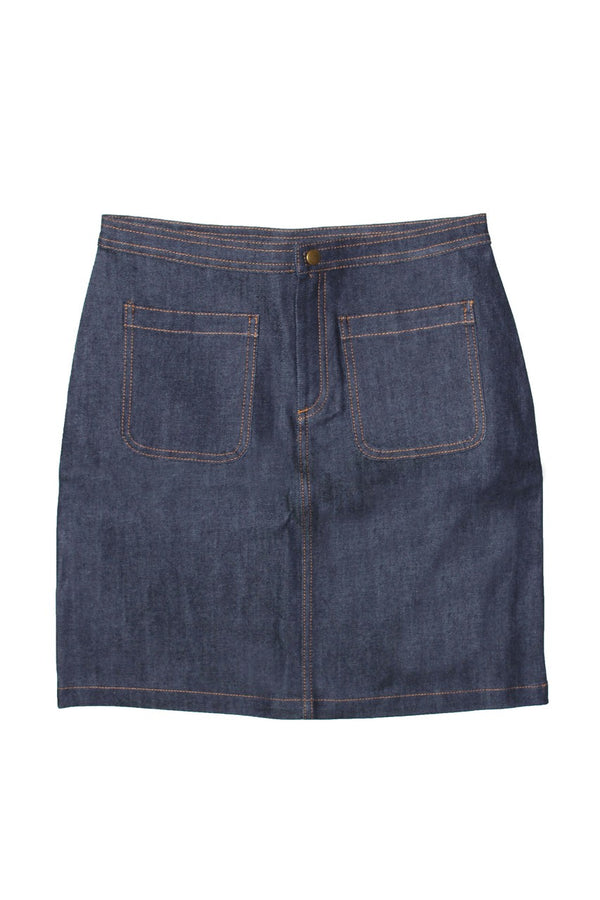 APC Denim Stretch Skirt - Raw - Dutil Denim