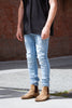 Ksubi Van Winkle Skinny - Raf Repaired Jeans & Apparel - Dutil Denim