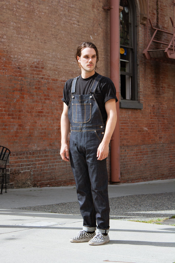 Naked & Famous Overalls - Left Hand Twill Selvedge Jeans & Apparel - Dutil Denim
