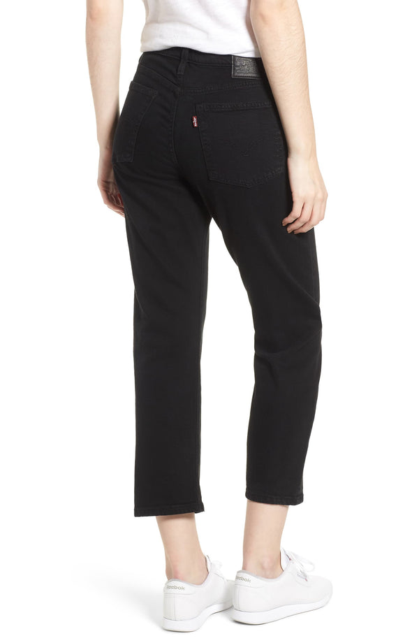Levi's Wedgie Straight - Black Heart