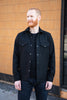 Rogue Territory Western Service Shirt - Black Wool