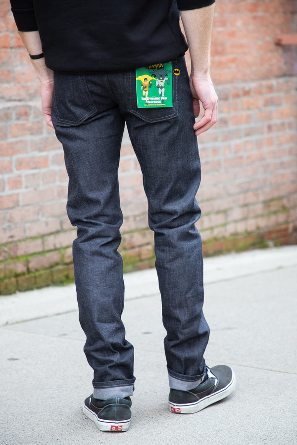 Naked & Famous Super Guy - Dynamic Duo Selvedge