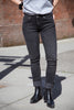 Nudie Skinny Lin - Worn Black