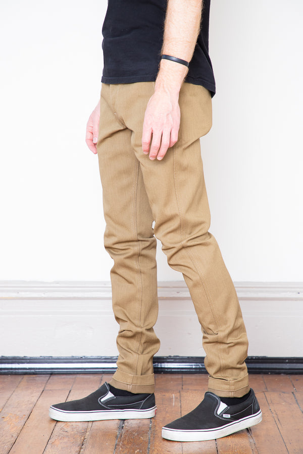 Rogue Territory Infantry Pants - Tan Denim