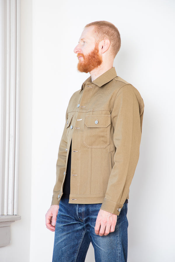 Rogue Territory Cruiser Jacket - Tan Denim