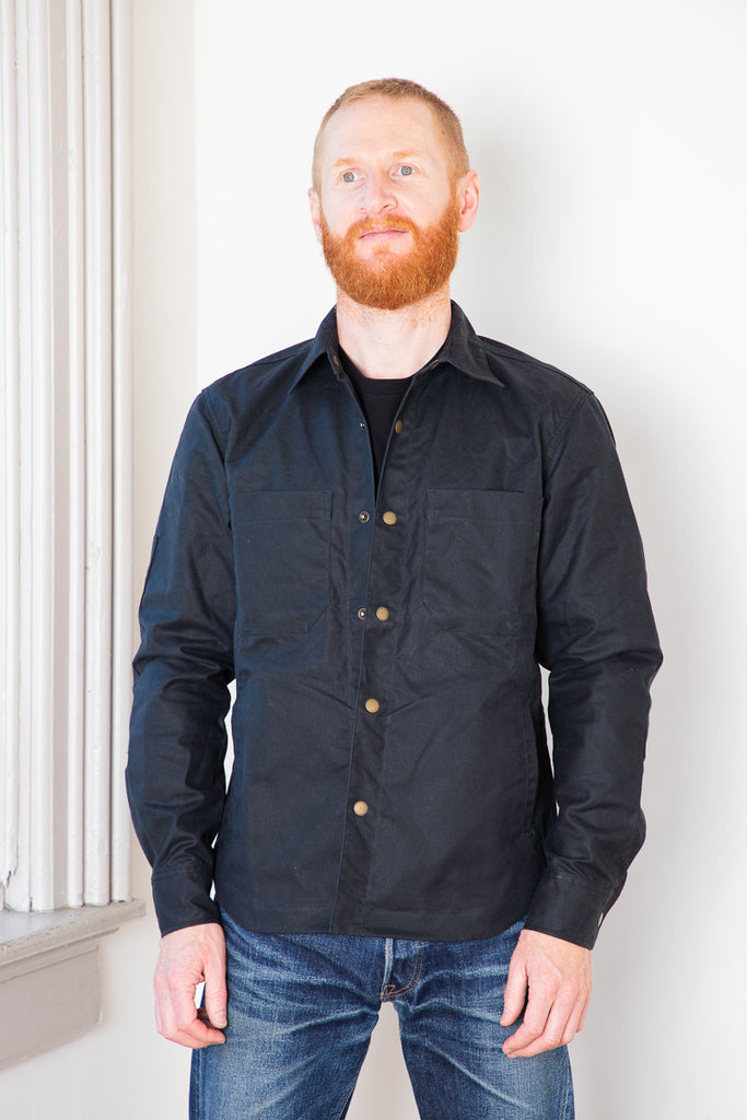 Rogue Territory Patrol Shirt Waxed - Black