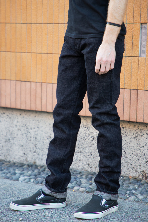 Naked & Famous Super Guy - MIJ7 Yahan Midnight Selvedge