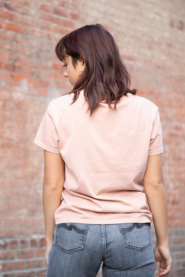 Nudie Lisa Tee - Apricot