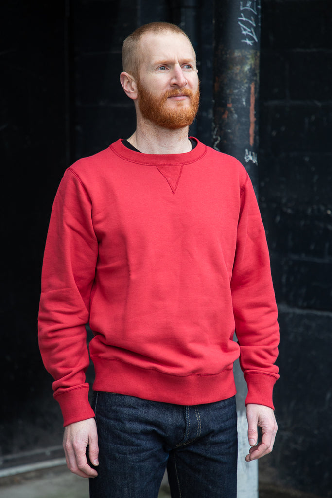 N&F Terry Crewneck - Red