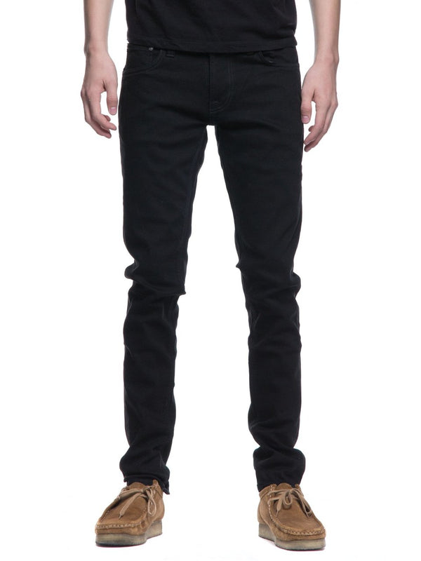 Nudie Tight Terry - Everblack - Dutil Denim