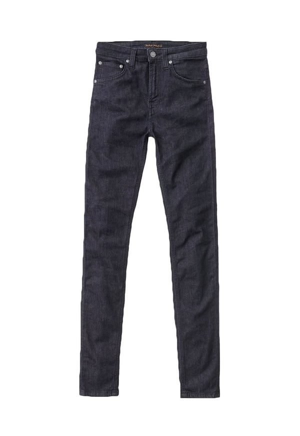 Nudie Hightop Tilde - Dark Blue Jeans & Apparel - Dutil Denim