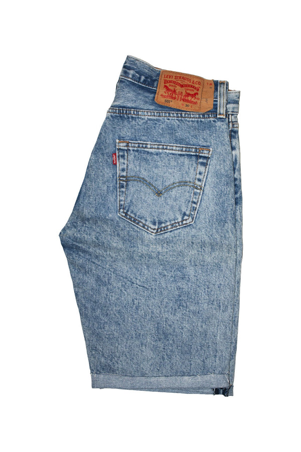 Levi's 501 Shorts - Rice Krispie Jeans & Apparel - Dutil Denim