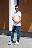 Circle of Friends M3 Reg Tapered - Indigo Selvedge Classic Worn 13oz Jeans & Apparel - Dutil Denim