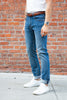 Circle of Friends M1 Slim - Indigo Heavy Used 12.5oz Jeans & Apparel - Dutil Denim
