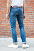 Circle of Friends M1 Slim - Indigo Heavy Used 12.5oz - Dutil Denim