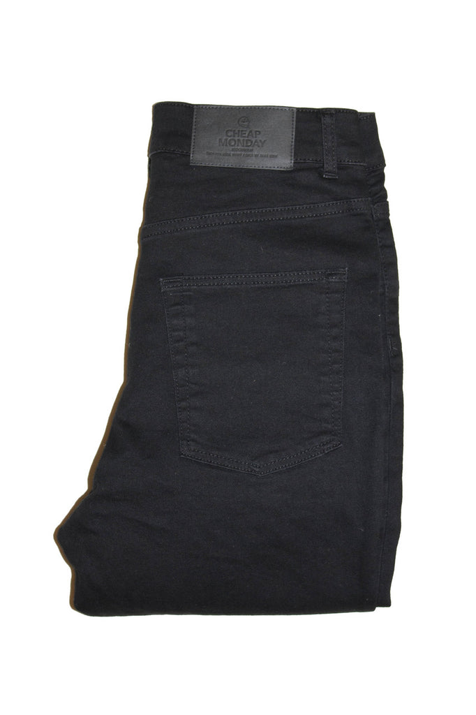 Cheap Monday High Snap - Black Coal Jeans & Apparel - Dutil Denim