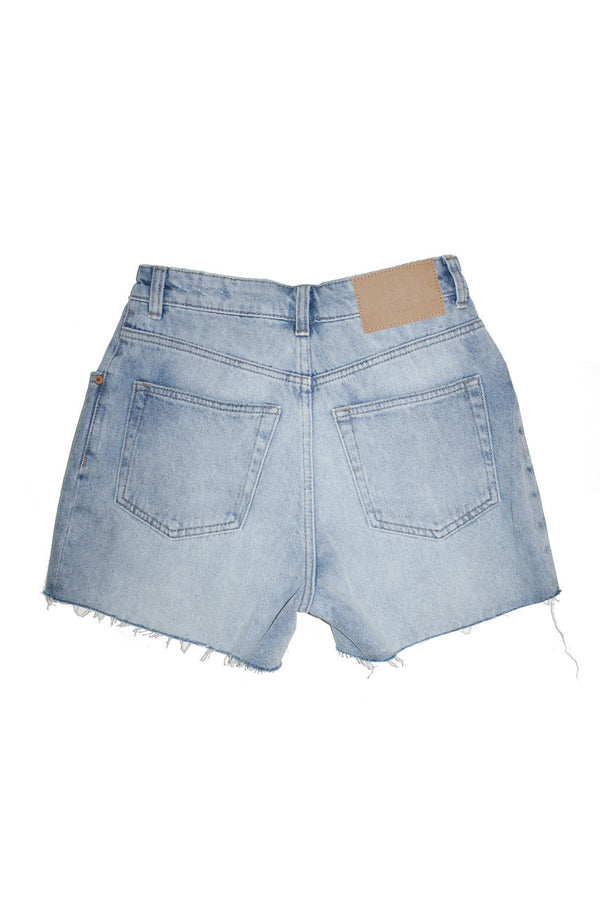 Cheap Monday Donna Short - Blue Blaze Jeans & Apparel - Dutil Denim