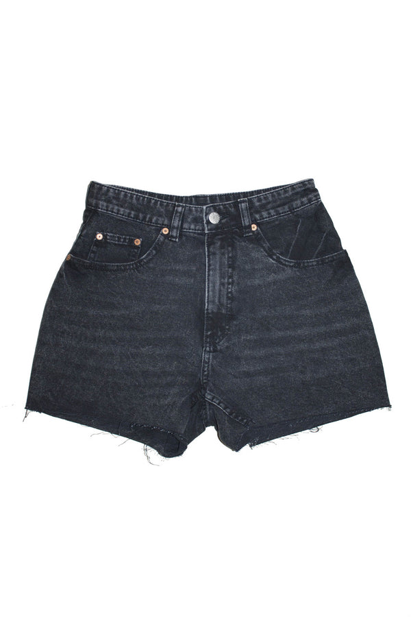 Cheap Monday Donna Short - Dust Black - Dutil Denim