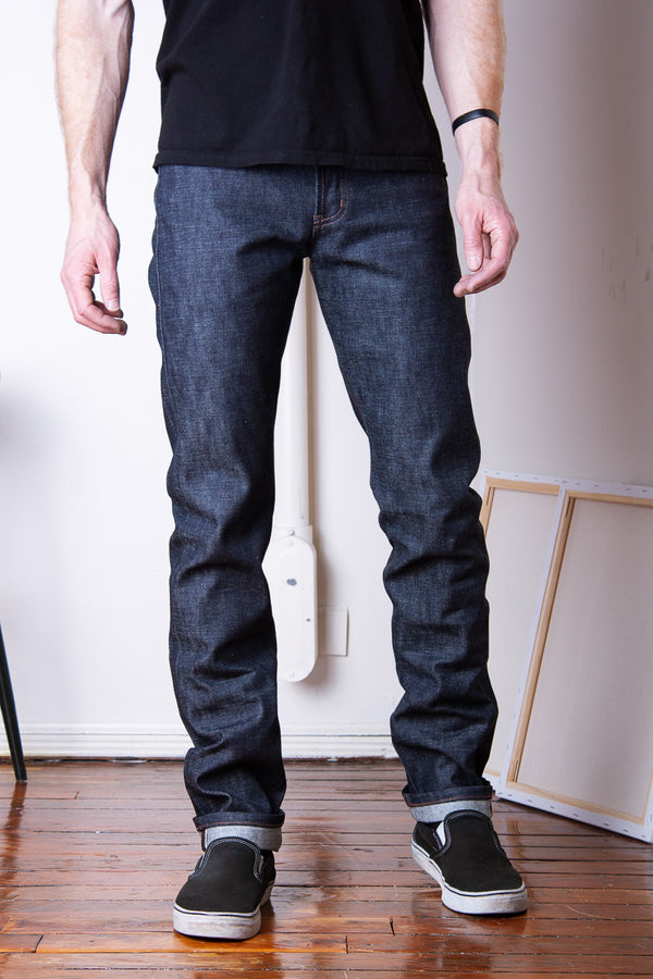 Naked & Famous Weird Guy - Chinese New Year Metal Rat Jeans & Apparel - Dutil Denim
