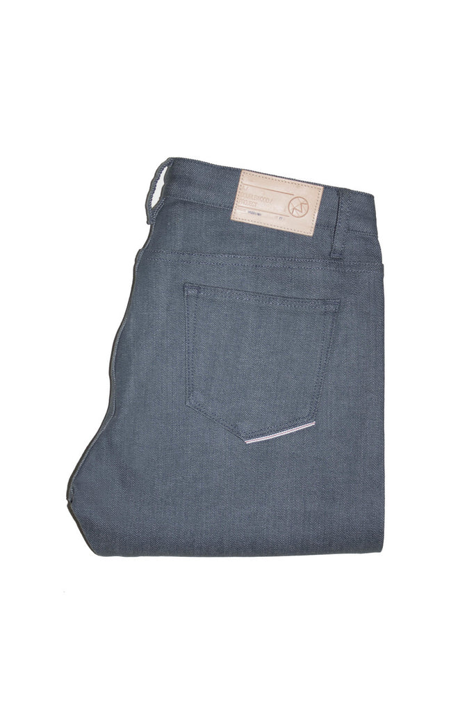 Doublewood - Skinny Grey Rinsed Jeans & Apparel - Dutil Denim
