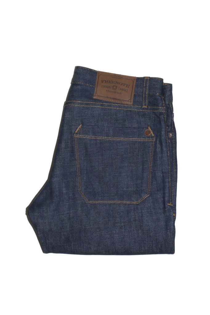Freenote Rios Slim-Straight - 14oz Blue Jeans & Apparel - Dutil Denim