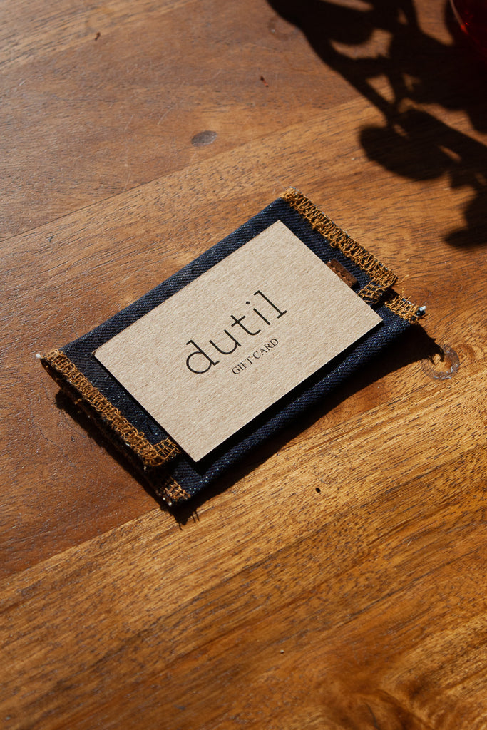 Gift Card Jeans & Apparel - Dutil Denim