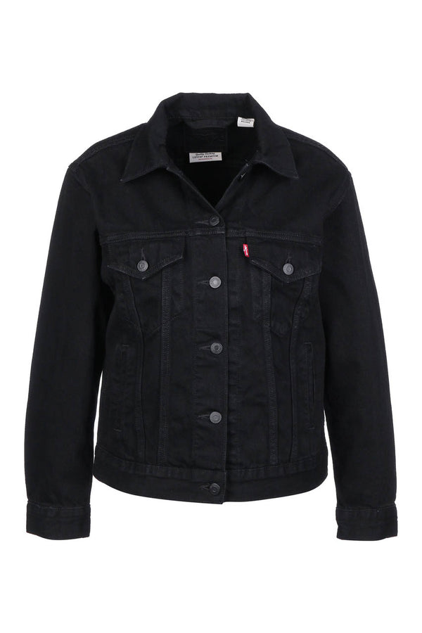 Levi's Ex-Boyfriend Trucker Forever Black - Dutil Denim