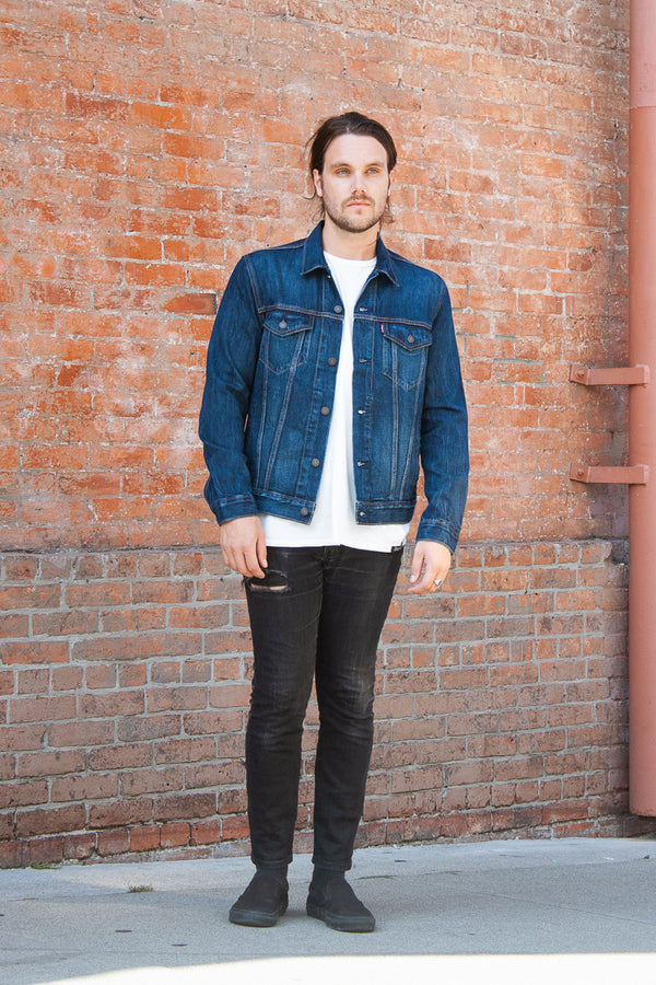 Levi's Trucker Jacket - Palmer Trucker Jeans & Apparel - Dutil Denim