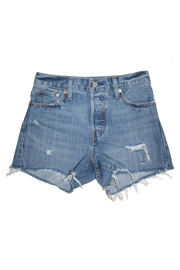 Levi's Wedgie Short - Blue Your Mind - Dutil Denim