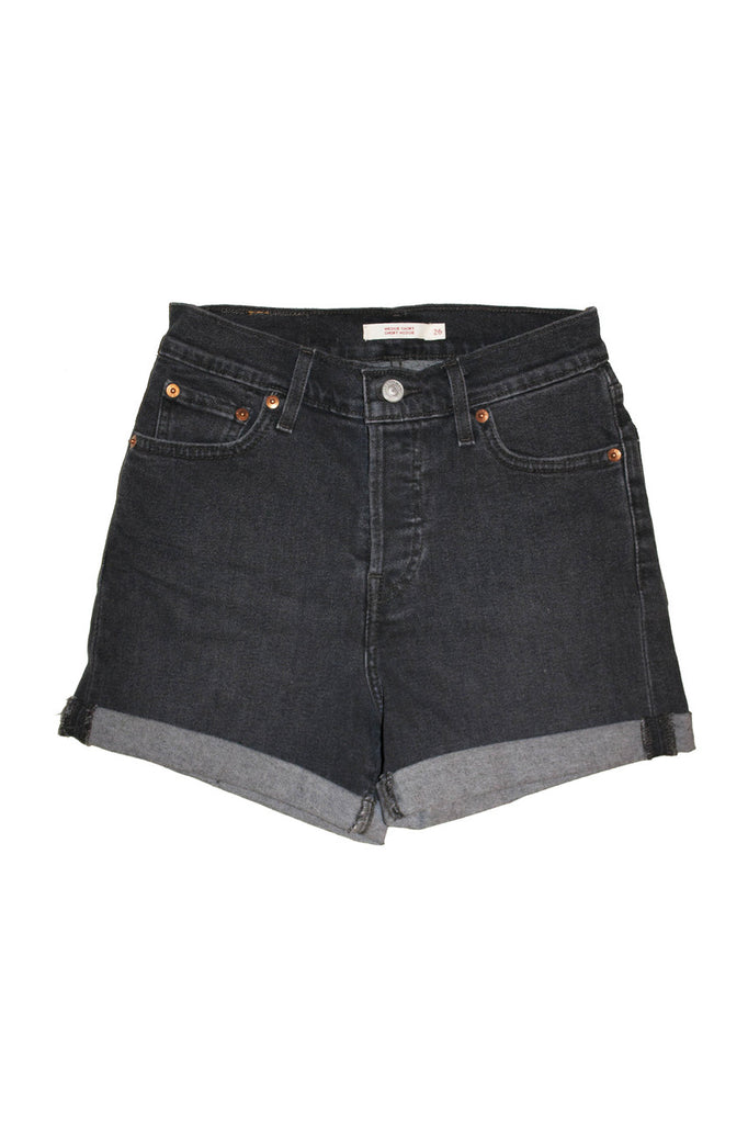 Levi's Wedgie Short - Zodiac Black - Dutil Denim