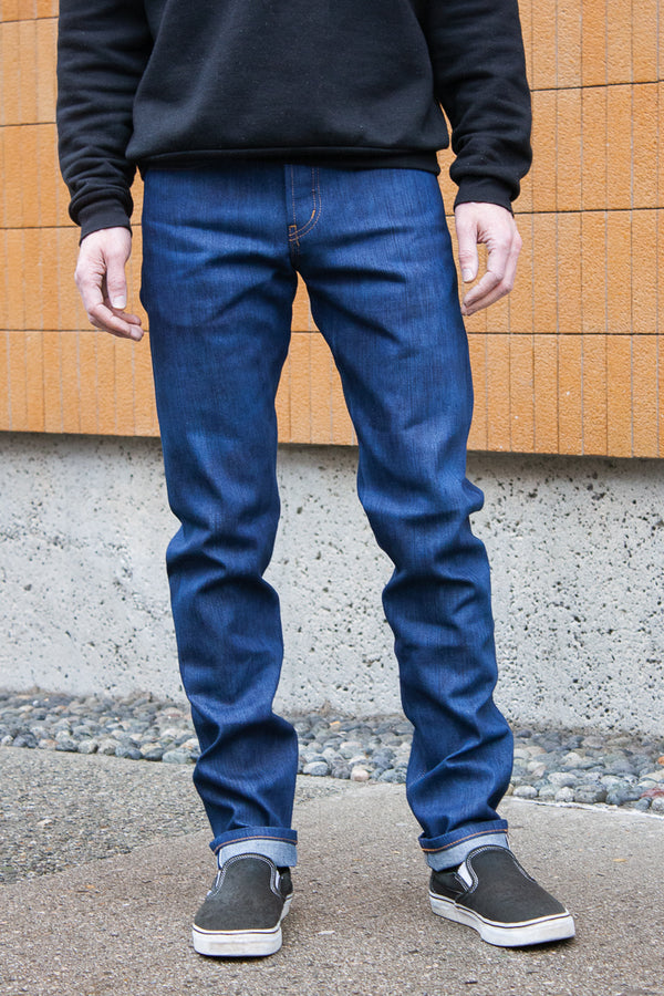 Naked & Famous Weird Guy - Kasuri Stretch Selvedge