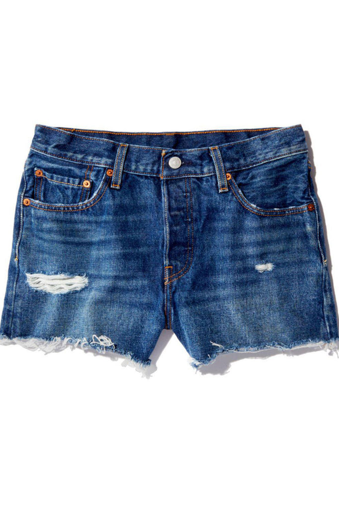 Levi's 501 High Rise Short - Silver Lake - Dutil Denim