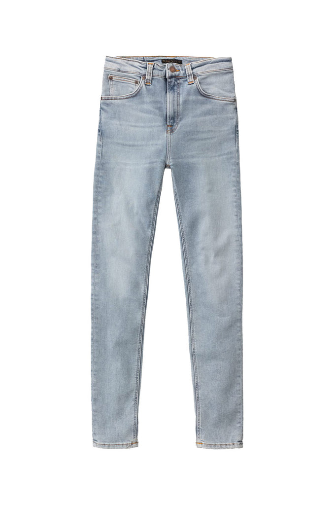 Nudie Hightop Tilde - Light Blue HP Jeans & Apparel - Dutil Denim