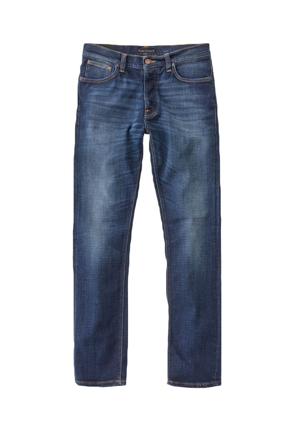 Nudie Dude Dan - Dark Deep Worn Jeans & Apparel - Dutil Denim